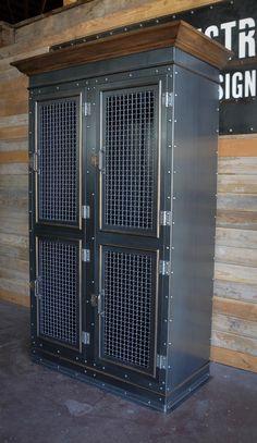 Country Club Lockers by Vintage Industrial Furniture