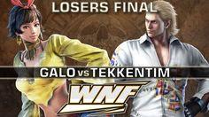 LOSERS FINAL - Galo (Josie) vs. TekkenTim (Steve) - WNF 3.3 - Tekken 7 https://www.youtube.com/watch?v=gr4Feh4KWdk&t=2s