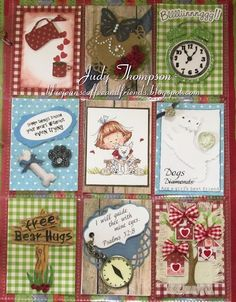 Pocket Letters ❤ by Judy Thompson