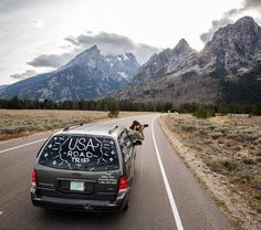 Photo by Corey Arnold @arni_coraldo  While road tripping in Grand Teton National Park I ran into Daniel Shawn and Anthony three artists/ photographers/ writers/ filmmakers @modernbaystudios from San Francisco who have been criscrossing the U.S. in a beat down mini van for the past 7 months. The goal is to visit all lower 48 states and as many National Parks as possible while documenting the journey as a multimedia experience. It's encouraging to meet millennials on the road willing to exit…
