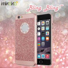 Luxury Beauty Crystal Rhinestone Case for iPhone 6/6S Plus.    This case is made of high quality PC. Easy access to all the buttons on the phone. Precise and bling cute outlook. Super comfortable hand feeling.