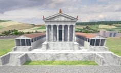 Ricostruzione 3D del territorio Romano di Urbs Salvia, Urbisaglia, 2013 - GeoInformatiX, Alberto Antinori