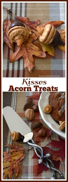 Hersey Kisses Acorns, an easy fall treat!
