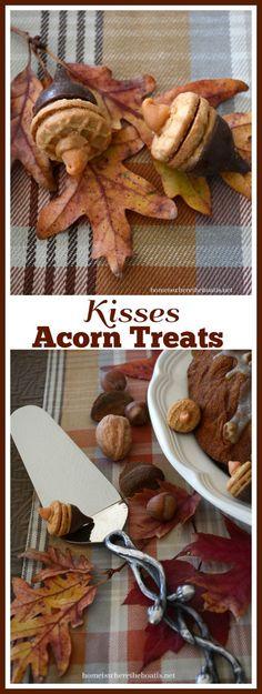 Hersey Kisses Acorns, an easy fall treat!
