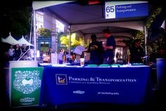 P & T table at Cal Day 2013