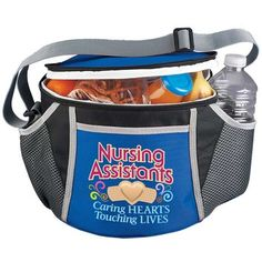 Nursing Assistants: Caring Hearts, Touching Lives Daytona Insulated Lunch Bag