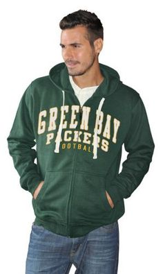Green Bay Packers Green Sanders Full-Zip Hooded Sweatshirt by G-III Sports. $49.99. Machine washable. Felt applique with embroidered graphics. Two front pockets. Sanders Full-Zip Hooded Sweatshirt. Drawstring hood. Protect yourself from the harsh elements and the cold temperatures with this Green Bay Packers Green Sanders Full-Zip Hooded Sweatshirt. Made by G-III Sports, this Green Bay Packers sweatshirt features an oversized double layer felt applique with embroidered graphics...