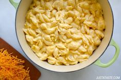 Easy Stovetop Macaroni and Cheese Recipe on justataste.com