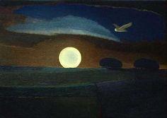poboh:   Full Moon, David Ishaw. English, born in 1943
