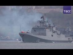 Fragata Russa Almirante Grigorovich saiu para o Mediterrâneo - 03.11.2016