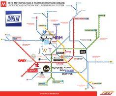 Agenzie pubblicitarie milano - mappa