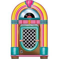 Raumdeko Jukebox 91 cm