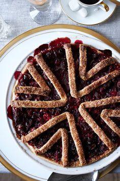 Four & Twenty Blackbirds' Cranberry-Sage Pie