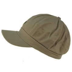 464529bfd4d Summer 100% Cotton Plain Blank 8 Panel Newsboy Gatsby Apple Cabbie Cap Hat  Gray