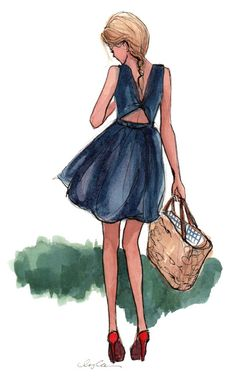 The Sketch Book – Inslee Haynes | Fashion Illustration by Inslee | Page 45