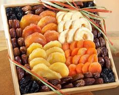 Dried Fruit Tray Mosaic Design Passover Gift