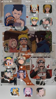 Phone Organization, App Icon, Homescreen, Screens, Naruto, Backgrounds, Anime, Layout, Icons