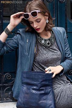 Swarovski's Vita Crystal Pierced Earrings as styled by @Vogue México are elegant for everyday and available at www.swarovski.com/5008671/product/Vita_Crystal_Pierced_Earrings?BannerID=8003020.6 Pictures by Germán Nájera    #SecretTreasures