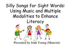 super-sight-word-songs-and-other-activities-to-reinforce-sight-words by educator_with_a_heart via Slideshare