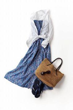 Kyoko Kikuchi's Closet | 暑い夏の日は、軽やかな素材で涼しげにまとめたい
