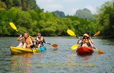 Krabi Sea Kayak Championship 2015 begins in Krabi, Thailand
