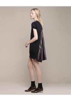 Sacai Luck / Bi-Color Split Back Dress