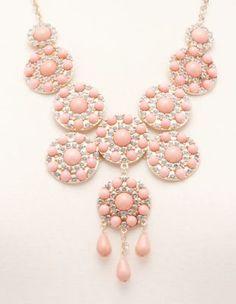 princess medallion bib necklace