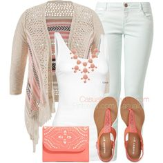 Coral & Mint Chic by casuality on Polyvore featuring maurices, Fresh Made, Fat Face, Aéropostale, Vera Bradley and Alexa Starr