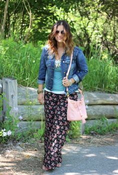 Something About That | floral palazzo pants | http://somethingaboutthat.com