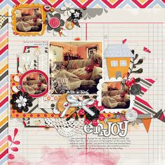 Credits: This Smile by Red Ivy Design, Fuss Free: Eclectic 9 by Fiddle-Dee-Dee Designs, Font: KG Part of Me