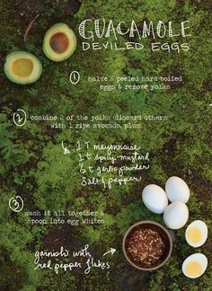 Guacamole_Deviled_Eggs from The Forest Feast cookbook on Design*Sponge