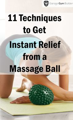 All you need is a massage ball and the knowledge to use it. In this article, we'll discover 11 techniques to get maximum relief from aches and pains with a lacrosse ball massage. Massage Tips, Massage Benefits, Self Massage, Good Massage, Massage Techniques, Massage Therapy, Face Massage, Massage Roller, Pilates