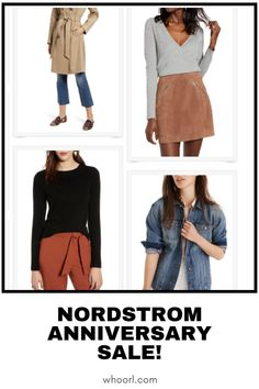This is my most favorite time of the year. You know that your girl LOVES clothes. What you may not know is that I love sales even more. Early access to the Nordstrom anniversary sale is going on until 7/18. Here are some of my top picks. #style #clothing #sales