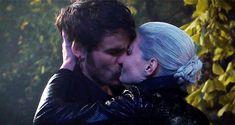 "Killian and Emma - 5 * 11 ""Swan Song"" #CaptainSwan"