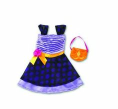 Groovy Girls Purplerific Dress by Manhattan Toy. $11.22. Part of the Groovy Girls Collection by Manhattan Toy Company. Groovy Girls encourage young girls to celebrate their own unique qualities. Soft body dolls with a flair for fashion. From the Manufacturer                Groovy Girls by Manhattan Toy are posh playmates and are the coolest dolls around. With funky outfits and awesome accessories, Groovy Girls products encourage girls to celebrate their own un...