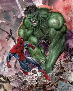 Spider-Man vs The Hulk