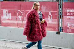 Subzero Street-Style: 50 of the Most Epic Coats on Vogue.com