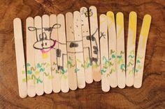 Craft Popsicle Stick Puzzle