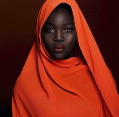 Black is beautiful and comes in all shades.  South Sudanese model Nyakim Gatwech is truly the epitome of this.