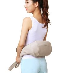Pro Multifunction Heating Neck Shoulder Body Massage Health Care Pillow Home Car Office Acupuncture Kneading modern pop-design