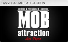 Mob Attraction Las Vegas is a one-of-a-kind entertainment experience that immerses visitors into the world of the mob. It takes guest on a fun, exciting, interactive journey through the world of organized crime.    http://www.troplv.com/entertainment/mob-attraction-las-vegas
