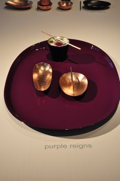 """""""Purple Reigns"""" zerunianandweisz for Edition Rauminhalt Purple Reign, Kitchenware, Music Instruments, Musical Instruments, Kitchen Utensils"""