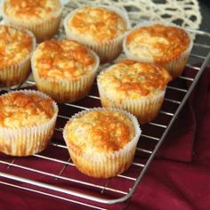 Bacon, Cheddar and Corn Muffins