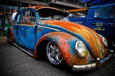 Rat look VW Beetle | Flickr - Photo Sharing!
