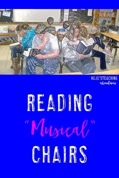 """Want your students to try out a variety of genres? Then try out """"Reading Musical Chairs""""! This is a great activity to do in your 2nd, 3rd, 4th, 5th, or 6th grade classroom. It's perfect for those """"off"""" days where students aren't really ready to pay full attention due to testing, holidays, an assembly, or something else putting the schedule """"off"""". Click through to see how awesome this is! It's also great for a fun literacy center every once in awhile!"""