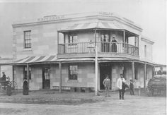 Early photo of the Criterion Hotel, Gawler South Australia. History, South Australia