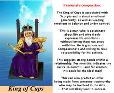 KING OF CUPS #tarotcardmeaning