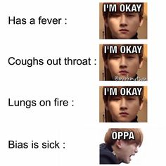 When Kookie got sick and couldn't perform
