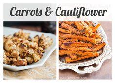 My Lil' J's favorites - Carrots-cauliflower