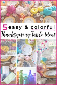 5 easy and colorful